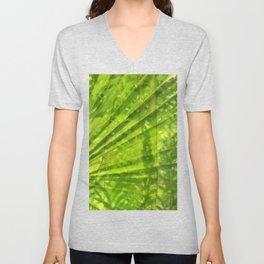 Cambodian Foliage Unisex V-Neck