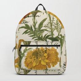 Vintage marigolds Backpack