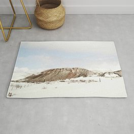 Lonely mountain Rug