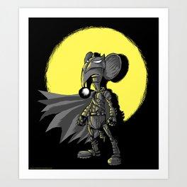 """Cuervito Fumanchu - """"Batkumin"""" Art Print"""