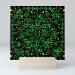 Shamrock Clover Ornament Mini Art Print