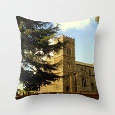 Edgefield Church. Throw Pillow