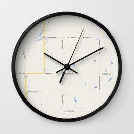 prueba blocks Wall Clock