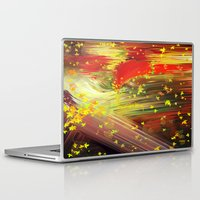 camus Laptop & iPad Skins featuring Fall In Love by Geni
