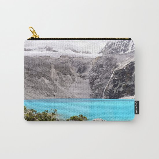 Blue Water Mountains Carry-All Pouch