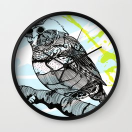 Sparrow me Wall Clock