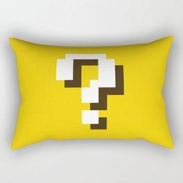 New Question Block Rectangular Pillow