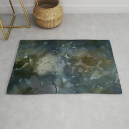 floating colors Rug