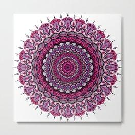 Mandala Creatività Metal Print