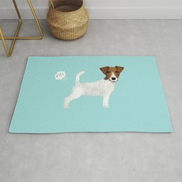 jack russell terrier farting dog cute funny dog gifts pure breed dogs Rug