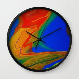 Electric Glow Wall Clock