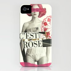c´est rose Slim Case iPhone (4, 4s)