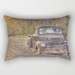 Old Truck Rectangular Pillow
