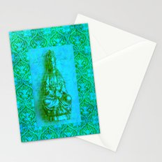 Jade Kwan Yin Stationery Cards