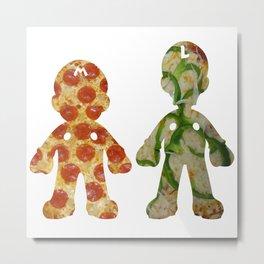 Pizza Bros. Metal Print