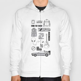 McFly Icons - Back to the Future Hoody
