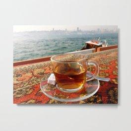 Tea in Istanbul Metal Print