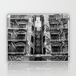 New York fire escapes Laptop & iPad Skin