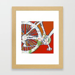 Bike Moab Framed Art Print