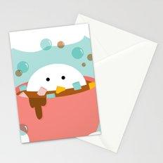 Hot Choco Bath Stationery Cards