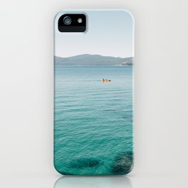 Summer Lake Day iPhone Case