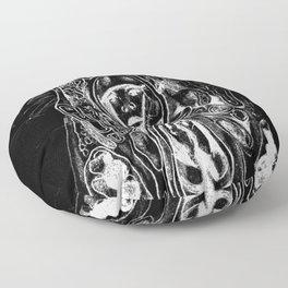 Black. Fly. Maria. Floor Pillow