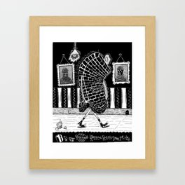 B is for... Framed Art Print