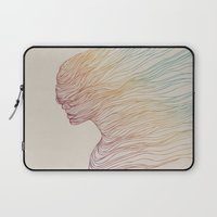 elegant Laptop Sleeves featuring FADE by Huebucket