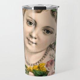 Little Flower Girl Travel Mug