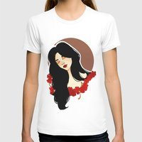 belle T-shirts featuring belle by chazstity