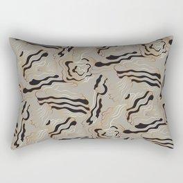 Golden Sand – a Touch of Elegance Rectangular Pillow