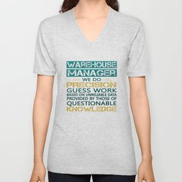 WAREHOUSE MANAGER Unisex V-Neck