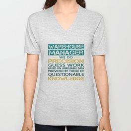 WAREHOUSE MANAGER Unisex V-Neck