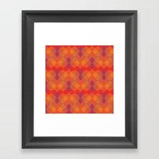 Plaid Checkers I Framed Art Print