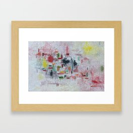 Tourette Framed Art Print