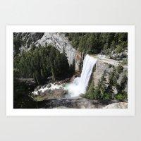 yosemite Art Prints featuring Yosemite by Andy Little
