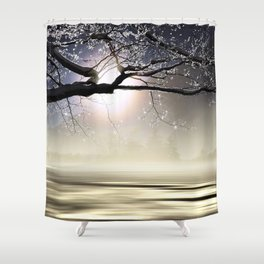 The Ice Storm - New England Shower Curtain
