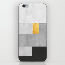 Gold Composition XVIII iPhone Skin