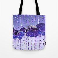orchid Tote Bags featuring Orchid by Saundra Myles