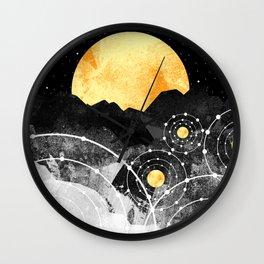 Stars of the galaxy Wall Clock