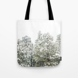 Lapse of Snow Tote Bag