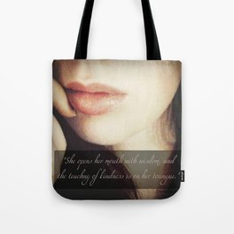 Teaching of Kindness Tote Bag
