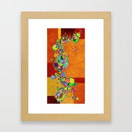 Sibling in Dirt Framed Art Print