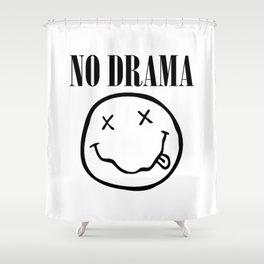 No Drama. Shower Curtain