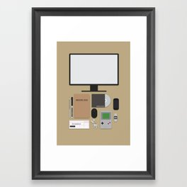 Awesome stuff. Framed Art Print