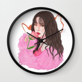Irene Red Velvet Bad Boy Wall Clock