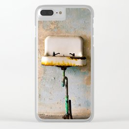 Rusted Sink Clear iPhone Case