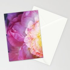 Peony Abstractions Stationery Cards
