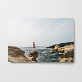 Freedom by the Sea Metal Print