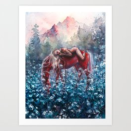 Epona Art Print